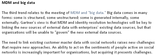 Gartner 3 MDM things 2012