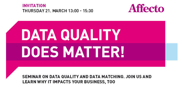 Data Quality Does Matter