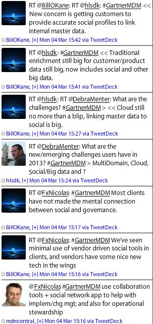 GartnerMDM chat and social MDM