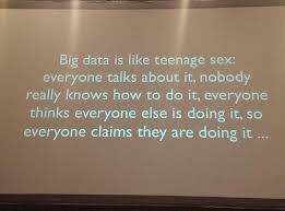 big data and teenage sex