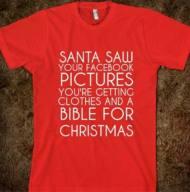 santa facebook pictures