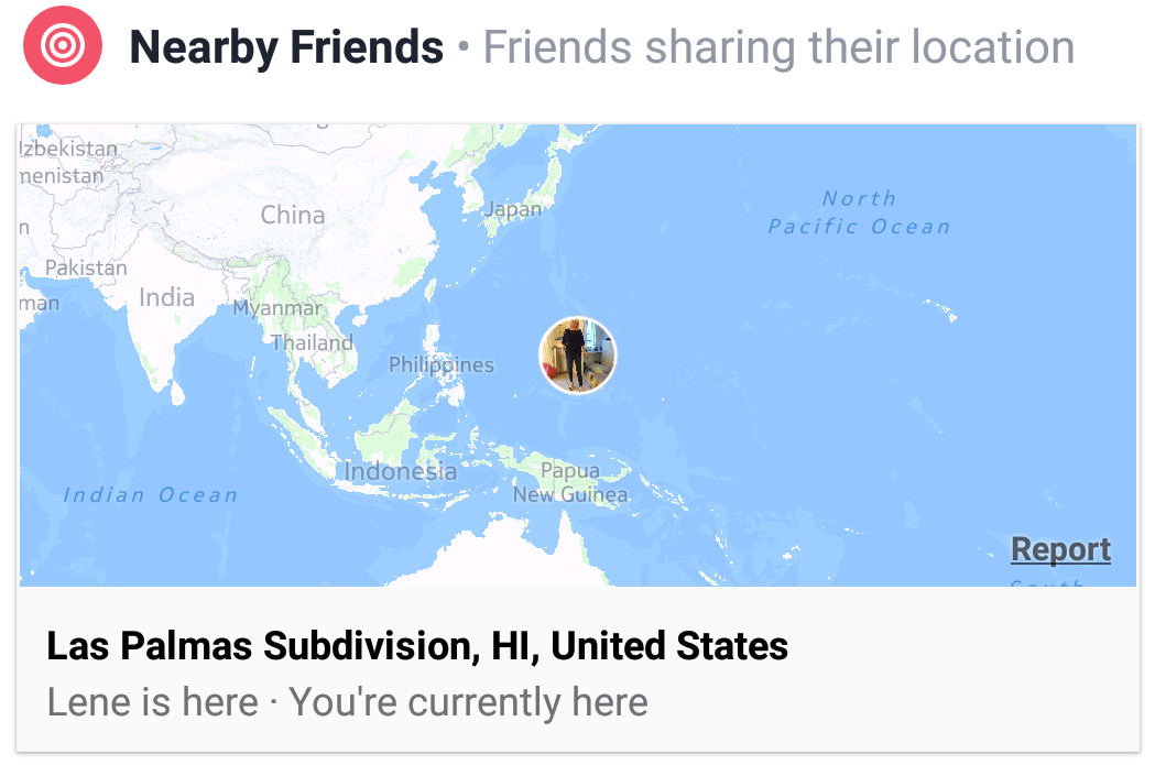 Facebook Geolocation Hickup
