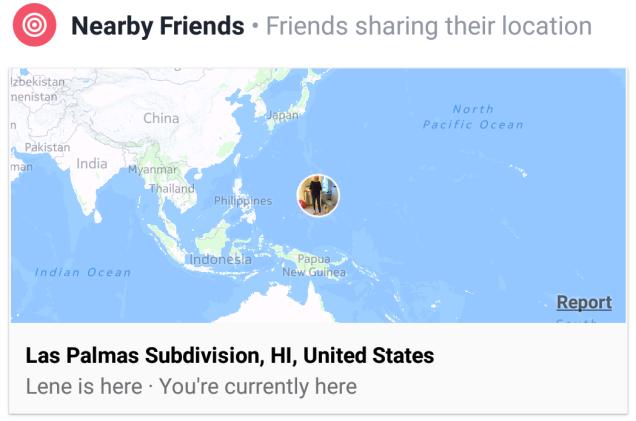 Facebook Geolocation Hickup