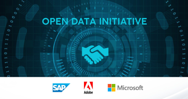 Open Data Initiative SAP Adobe Microsoft