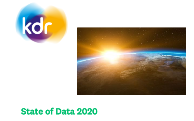 KDR state of data 2020